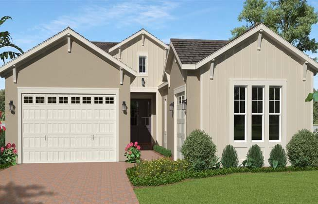 Exterior featured in the Woodlark By Minto Communities in Palm Beach County, FL
