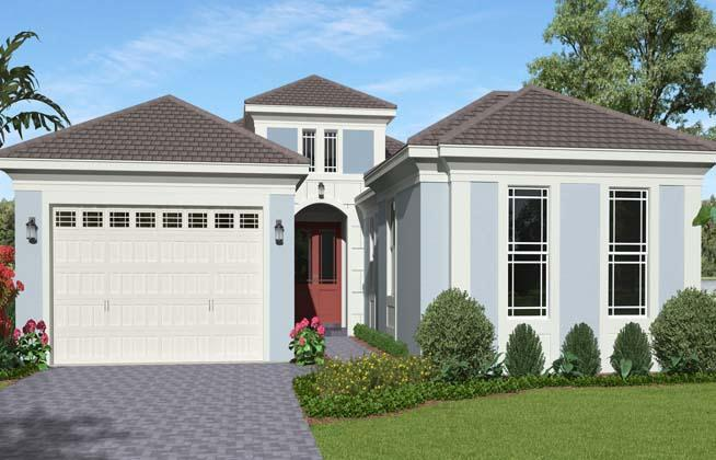 Exterior featured in the Woodlark Grand By Minto Communities in Palm Beach County, FL