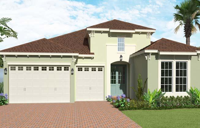 Exterior featured in the Sanderling By Minto Communities in Palm Beach County, FL