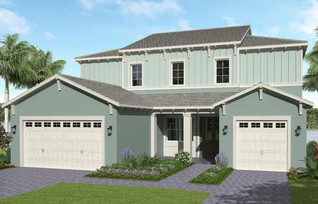 Exterior featured in the Kestrel By Minto Communities in Palm Beach County, FL