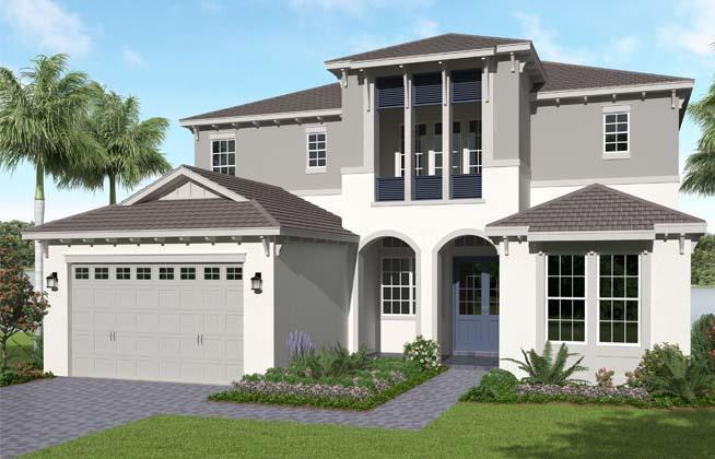 Exterior featured in the Kestrel Grand By Minto Communities in Palm Beach County, FL