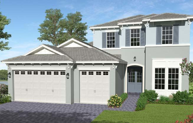 Exterior featured in the Tanager Grand By Minto Communities in Palm Beach County, FL