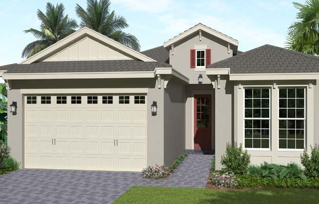 Exterior featured in the Aster II By Minto Communities in Palm Beach County, FL