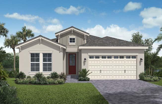 Exterior featured in the Cassia II By Minto Communities in Palm Beach County, FL