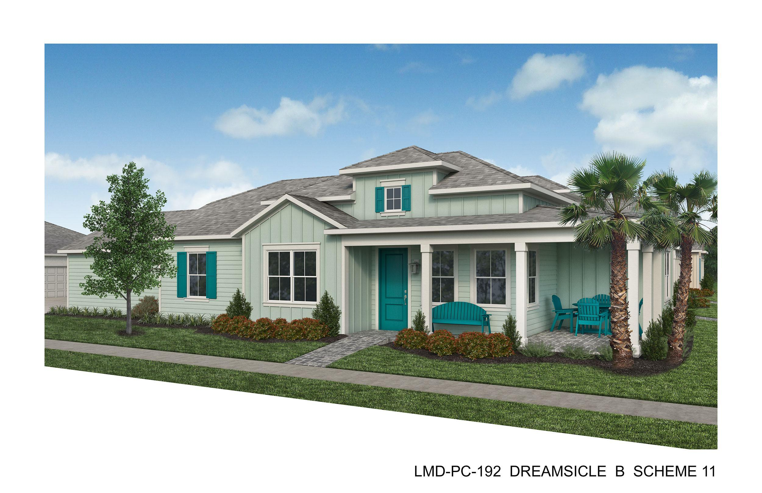 Exterior featured in the Dreamsicle By Minto Communities in Panama City, FL