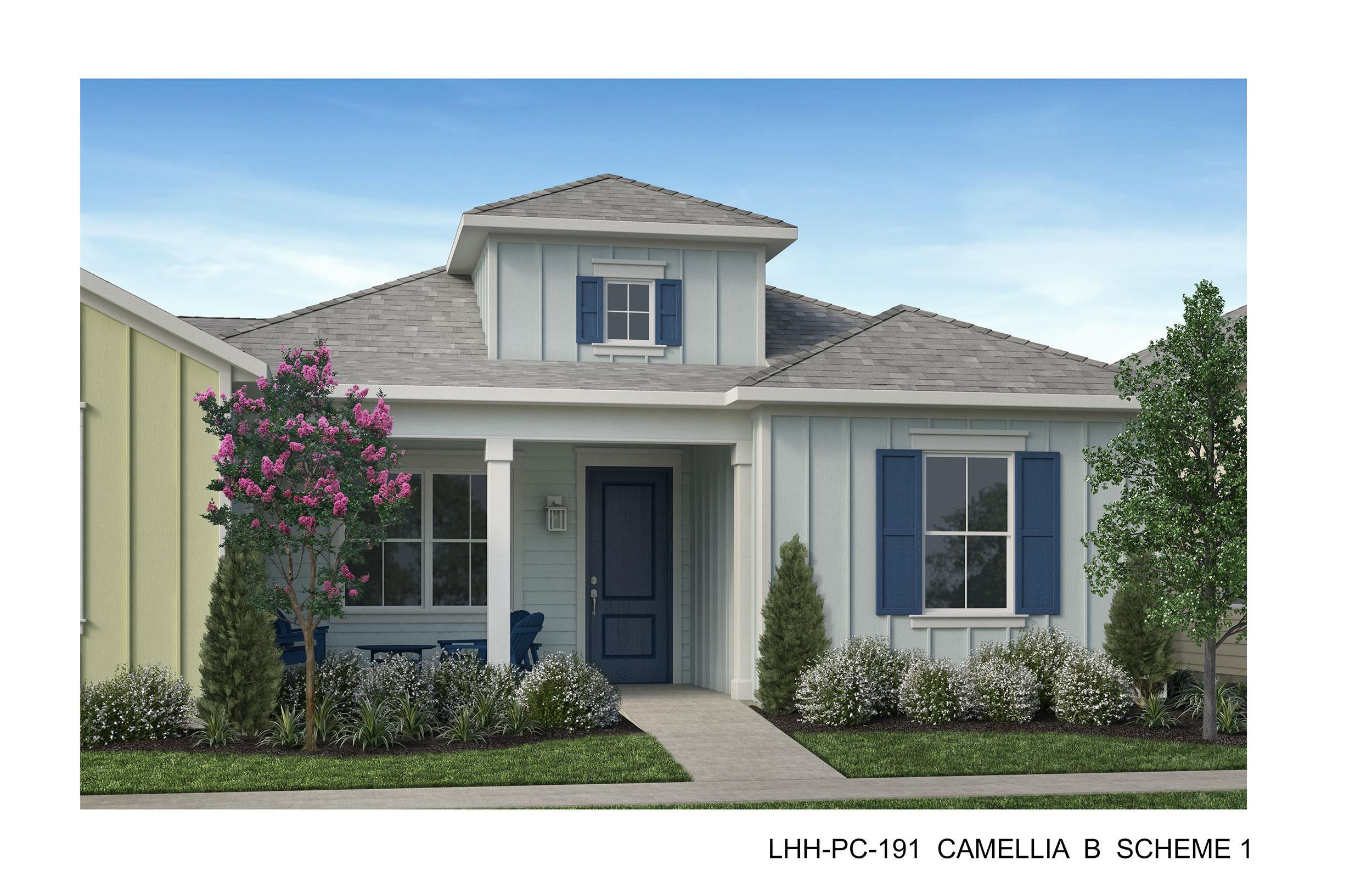 Exterior featured in the Camellia By Minto Communities in Savannah, SC