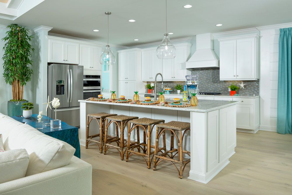 Kitchen featured in the Aruba By Minto Communities in Panama City, FL