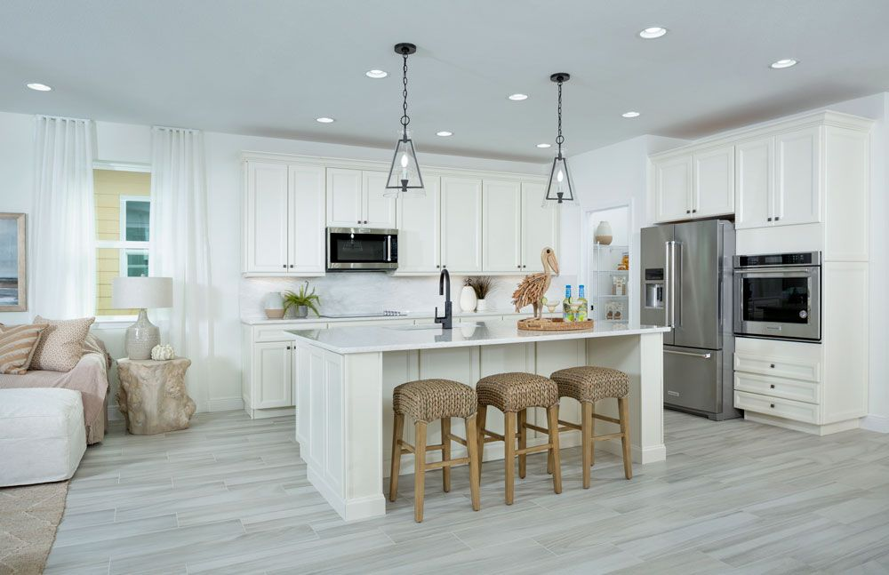 Kitchen featured in the Trinidad Bay By Minto Communities in Panama City, FL