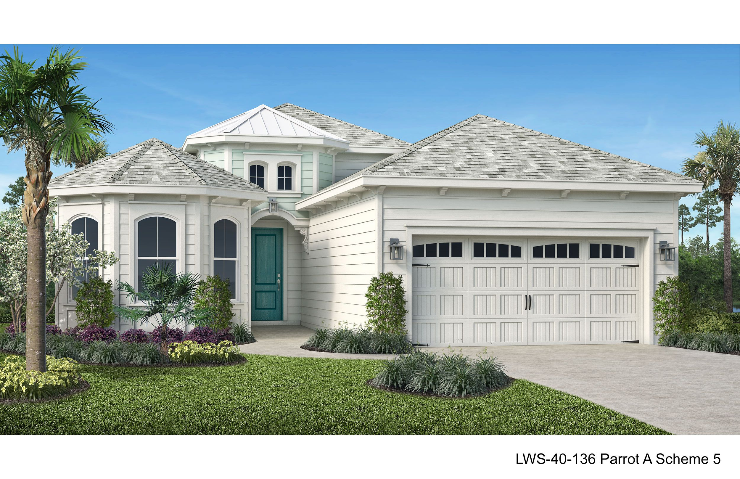 Exterior featured in the Parrot By Minto Communities in Panama City, FL