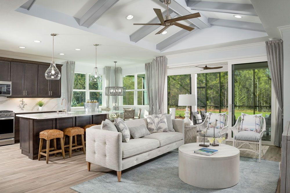 Living Area featured in the Parrot By Minto Communities in Panama City, FL