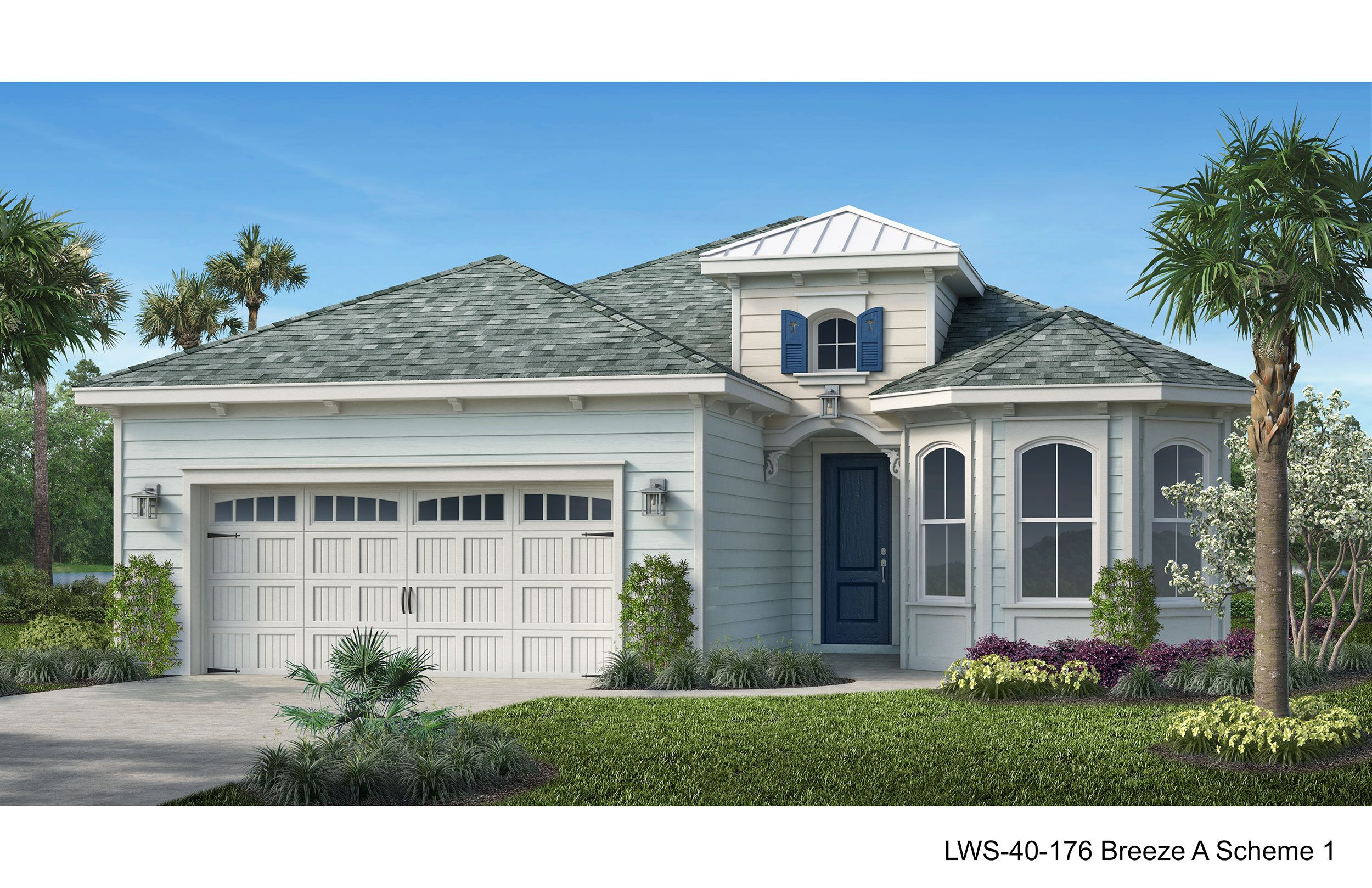 Exterior featured in the Breeze By Minto Communities in Panama City, FL