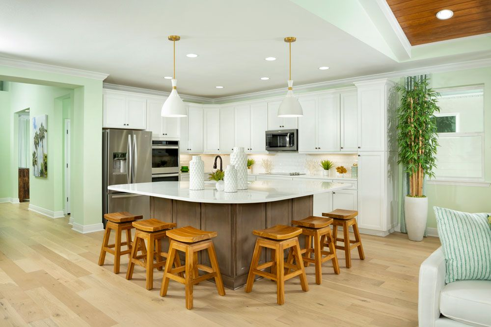 Kitchen featured in the Breeze Bay By Minto Communities in Panama City, FL