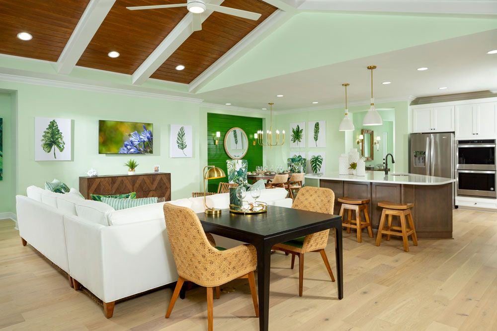 Living Area featured in the Breeze Bay By Minto Communities in Panama City, FL