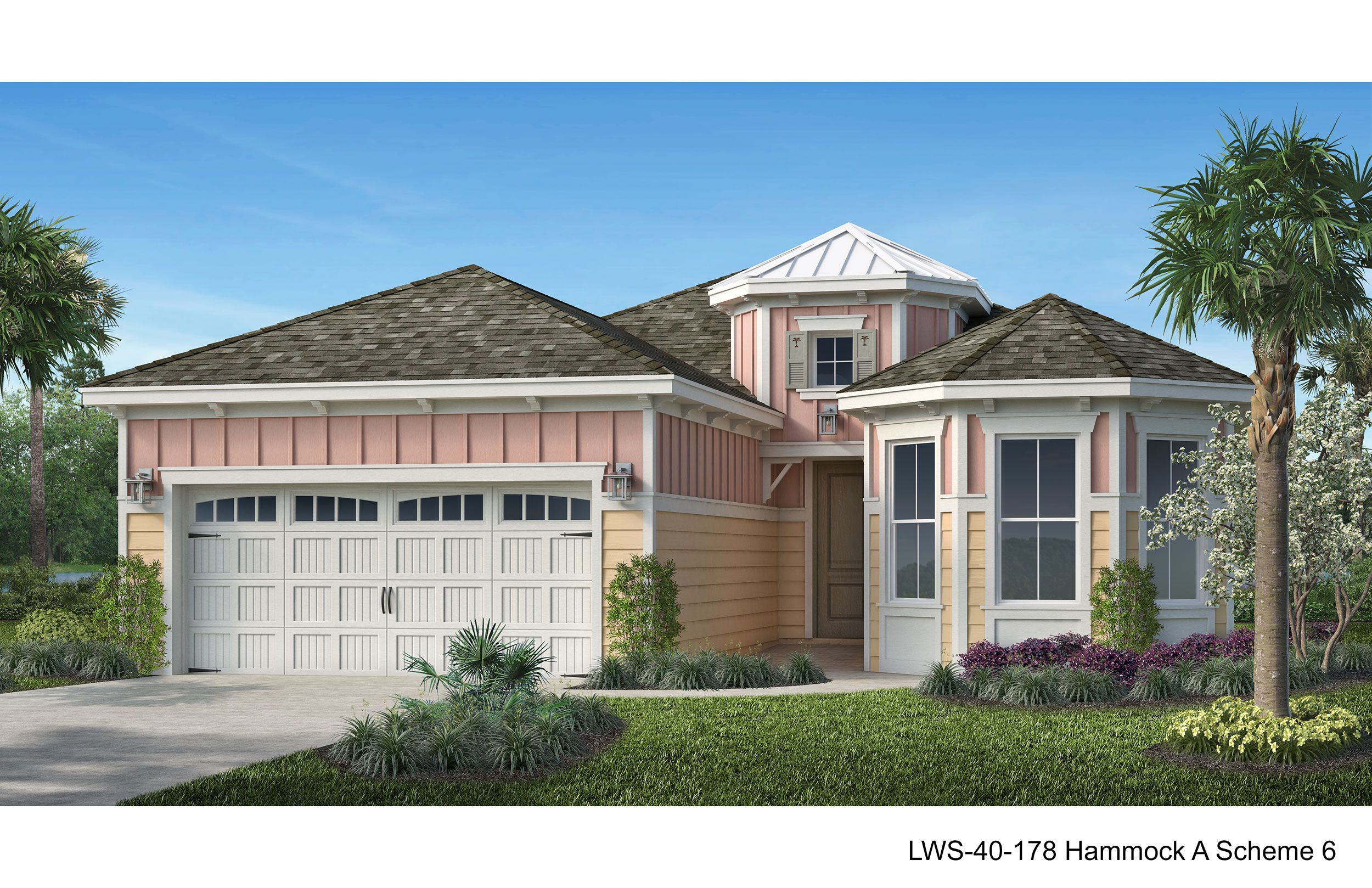 Exterior featured in the Hammock Bay By Minto Communities in Panama City, FL