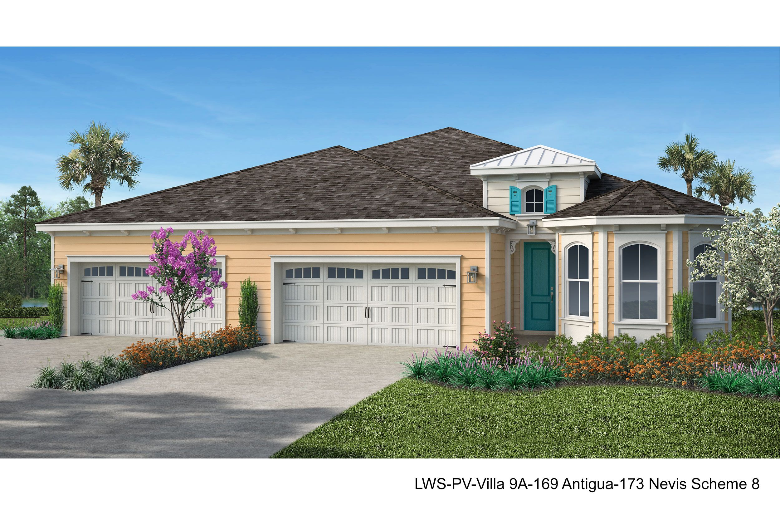 Exterior featured in the Antigua By Minto Communities in Panama City, FL
