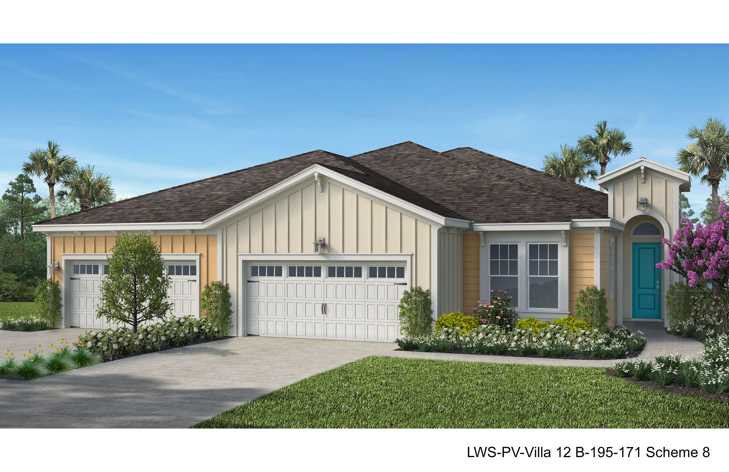 Exterior featured in the Barbuda Bay By Minto Communities in Panama City, FL