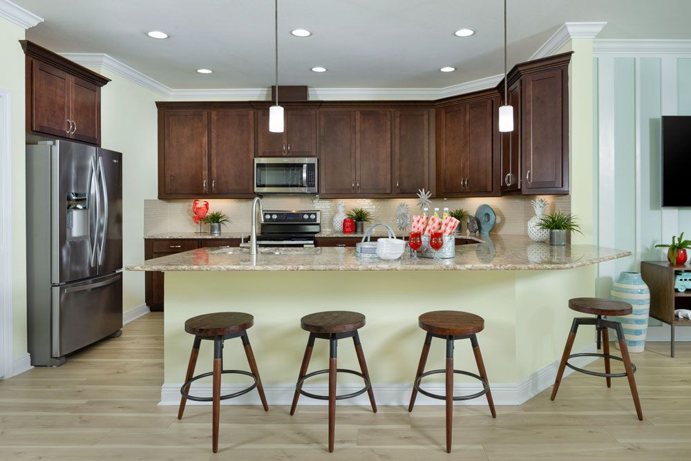 Kitchen featured in the Barbuda Bay By Minto Communities in Panama City, FL