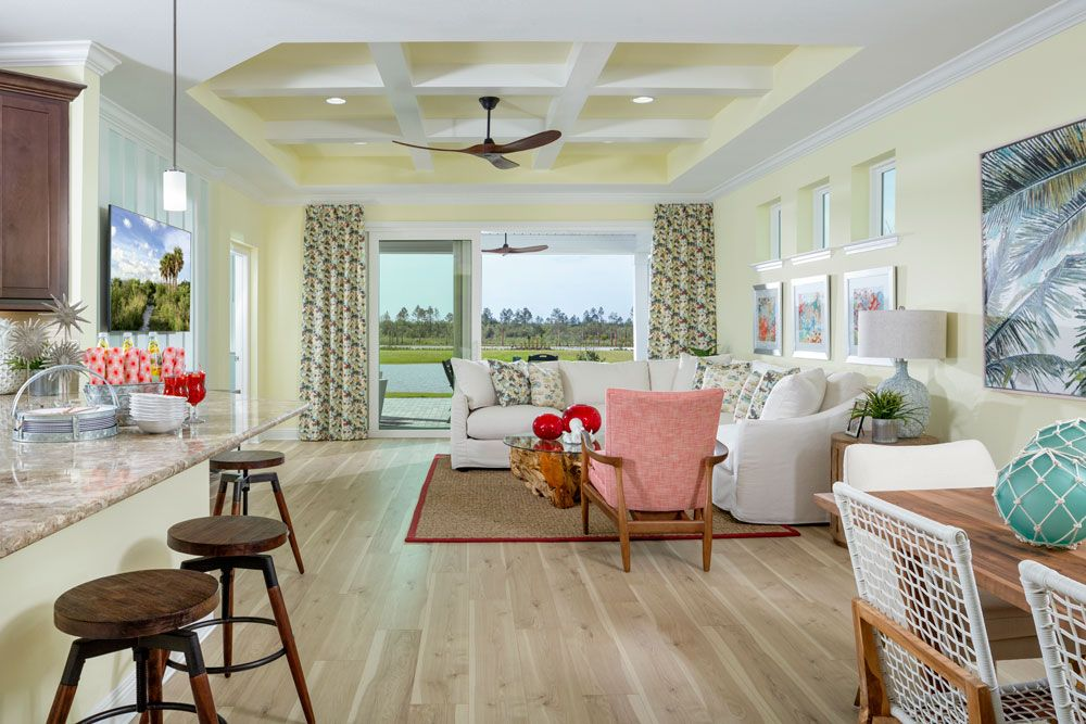 Living Area featured in the Barbuda Bay By Minto Communities in Panama City, FL