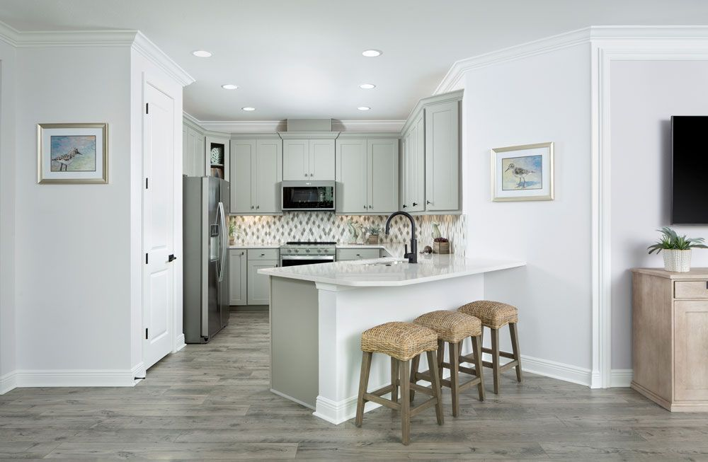 Kitchen featured in the Nevis By Minto Communities in Panama City, FL