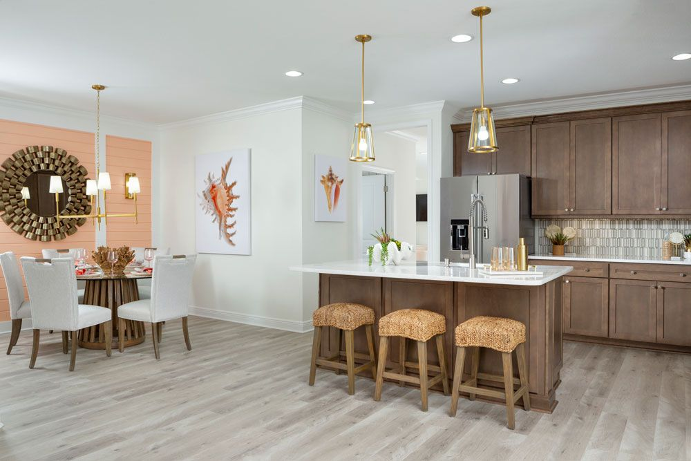 Kitchen featured in the Tortola By Minto Communities in Panama City, FL