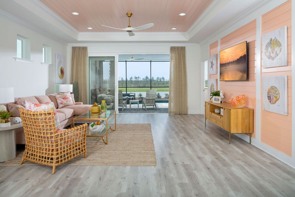 Living Area featured in the Tortola By Minto Communities in Panama City, FL