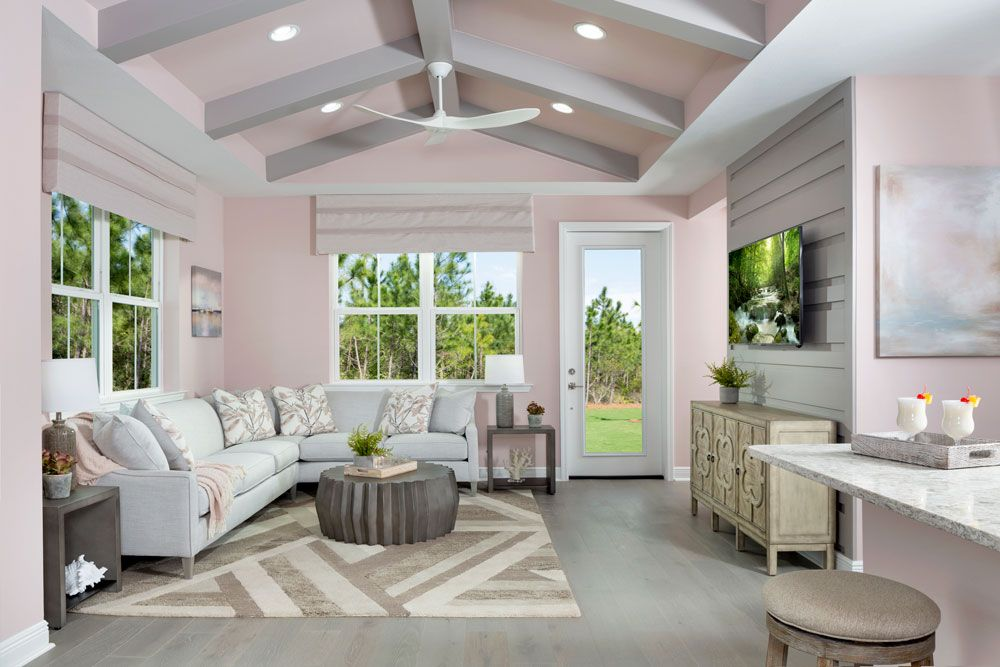 Living Area featured in the Aloha By Minto Communities in Panama City, FL