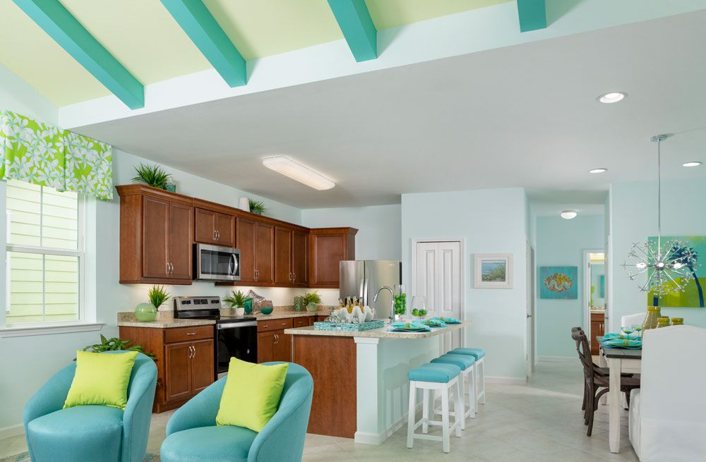 Kitchen featured in the Bamboo By Minto Communities in Panama City, FL