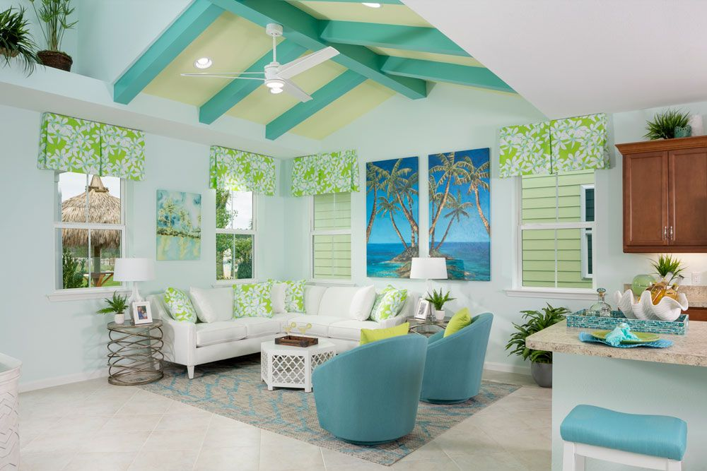 Living Area featured in the Bamboo By Minto Communities in Panama City, FL