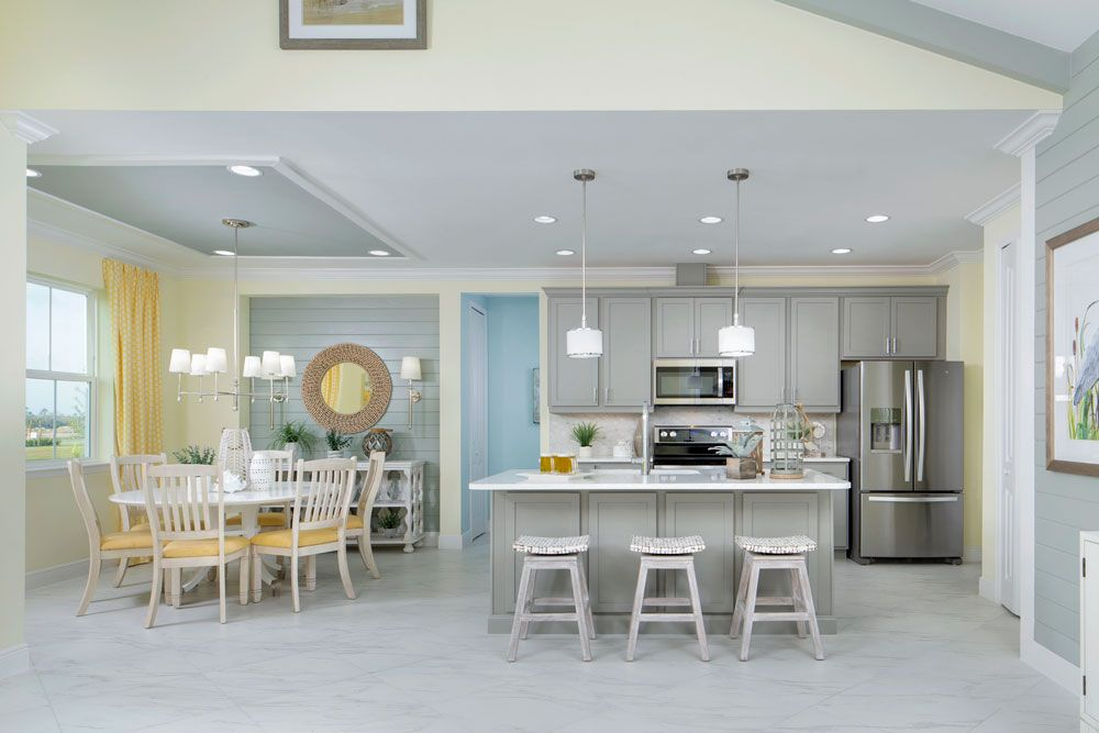 Living Area featured in the Dreamsicle By Minto Communities in Panama City, FL