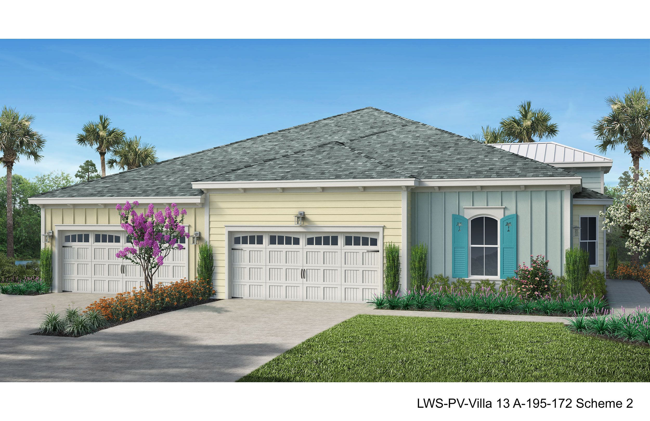 Exterior featured in the Tortola By Minto Communities in Panama City, FL