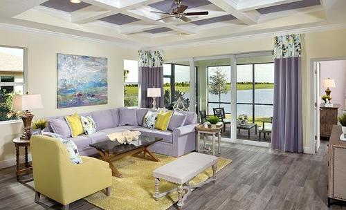 Greatroom-in-Buttonwood-at-LakePark at Tradition-in-Port Saint Lucie