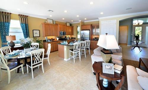 Kitchen-in-Gulfstream-at-LakePark at Tradition-in-Port Saint Lucie