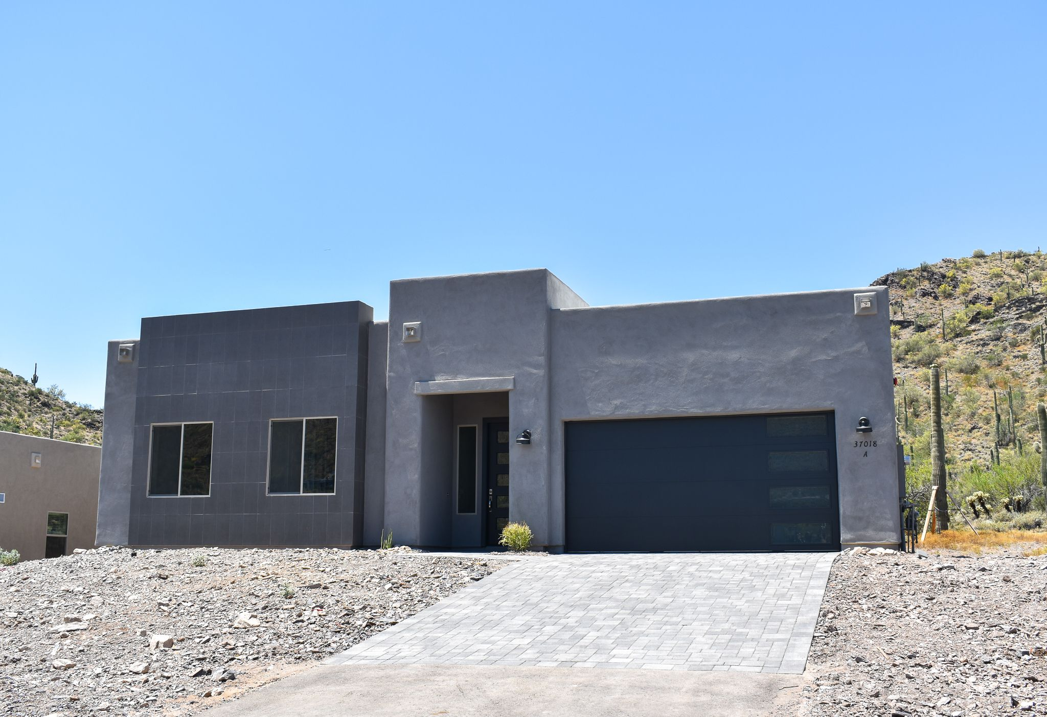 Exterior featured in The Manzanita Build on Your Lot By Morgan Taylor Homes in Phoenix-Mesa, AZ