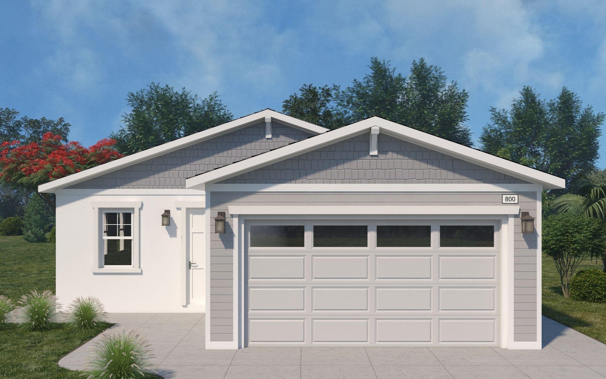 Exterior featured in the Floor Plan 1 By Monte Vista Homes in Riverside-San Bernardino, CA