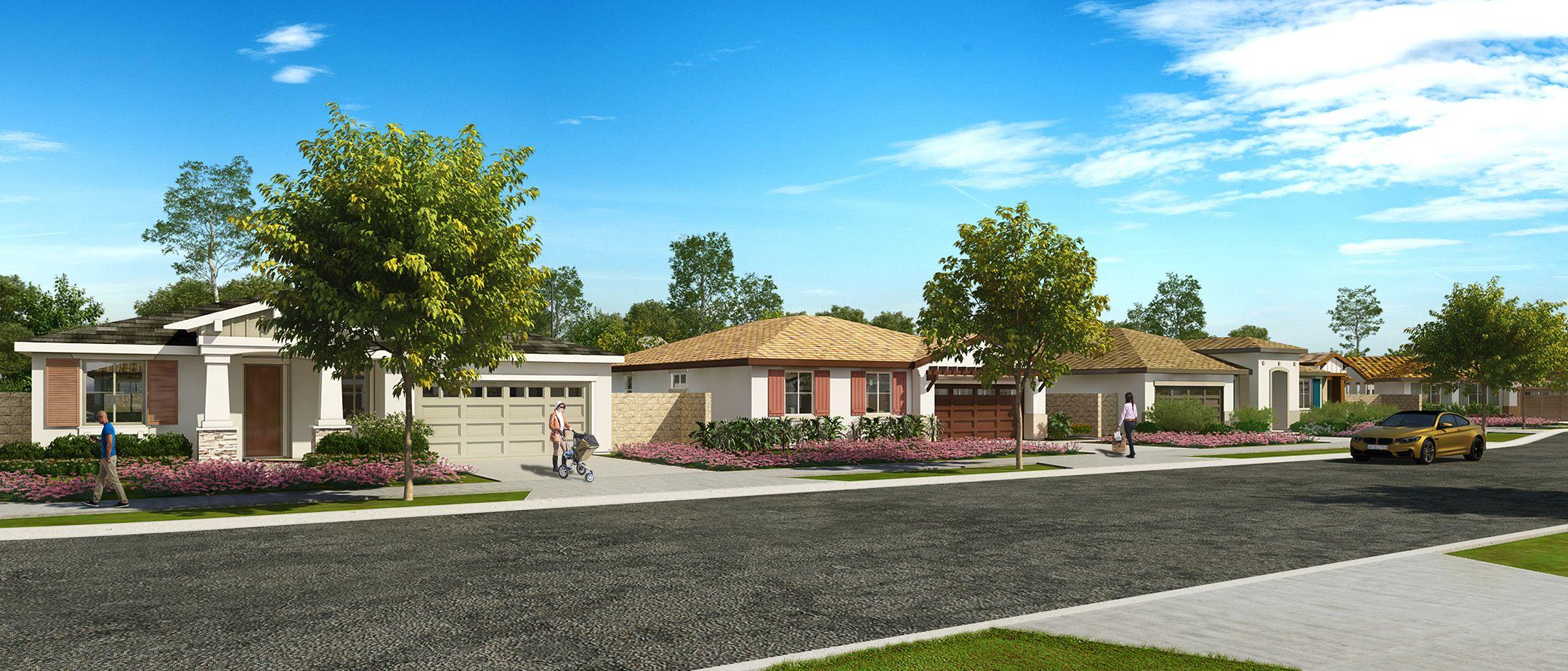 'Miller Villas-Fontana' by Monte Vista Homes in Riverside-San Bernardino