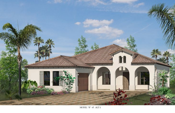 Briones Elevation 1:Designer model home open daily