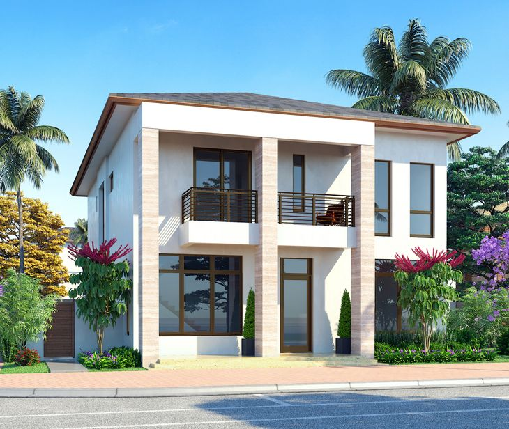 Contemporary - Two Story