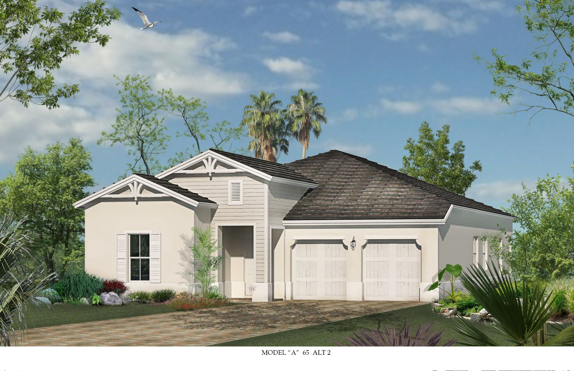 Exterior featured in the Almaden By CC Homes in Naples, FL