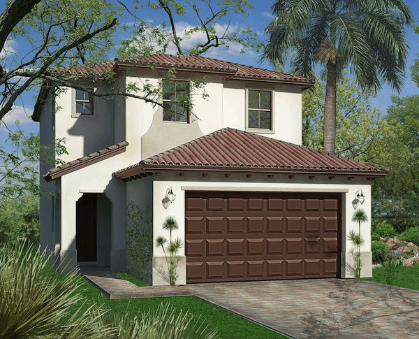 Exterior featured in the Cascada of Silverwood Collection By CC Homes in Naples, FL