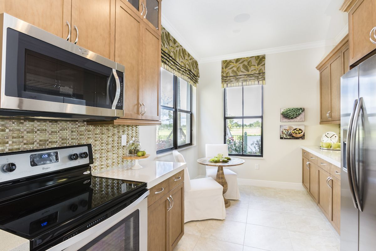 Kitchen featured in the Encinitas of Silverwood Collection By CC Homes in Naples, FL