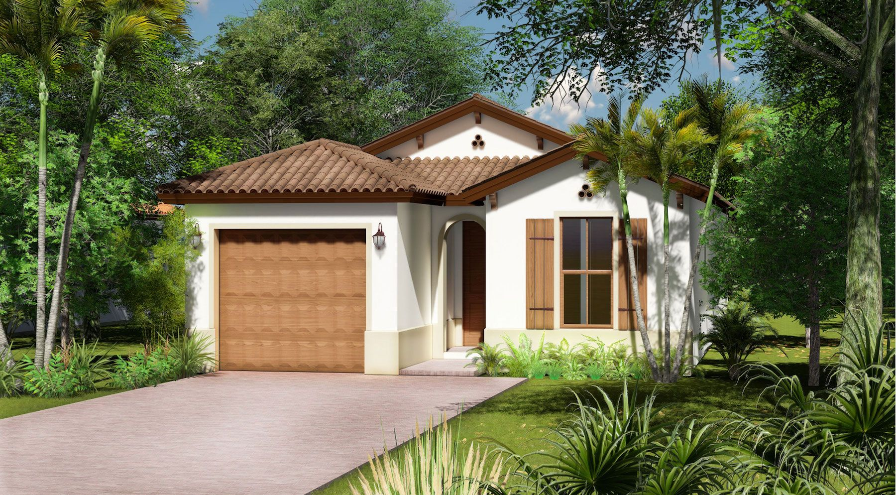 Exterior featured in the Fernwood of Silverwood Collection By CC Homes in Naples, FL