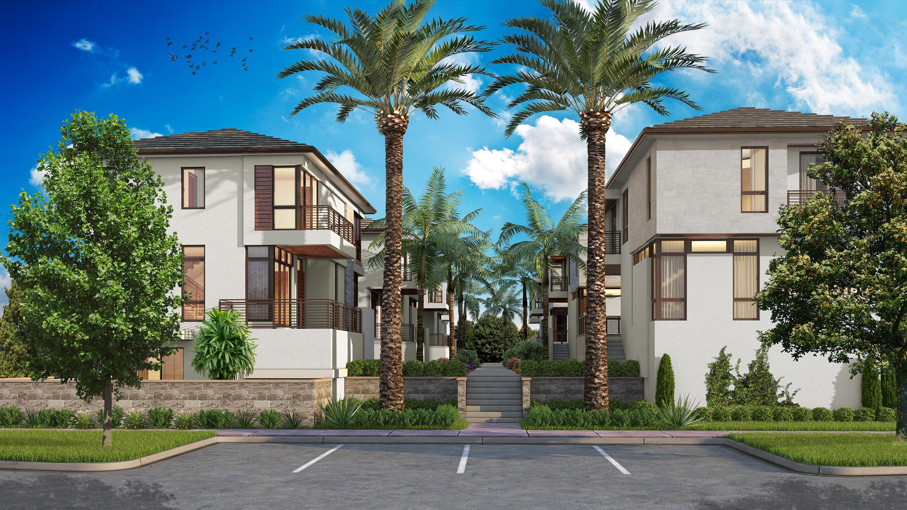 Exterior featured in the Model B By CC Homes in Miami-Dade County, FL