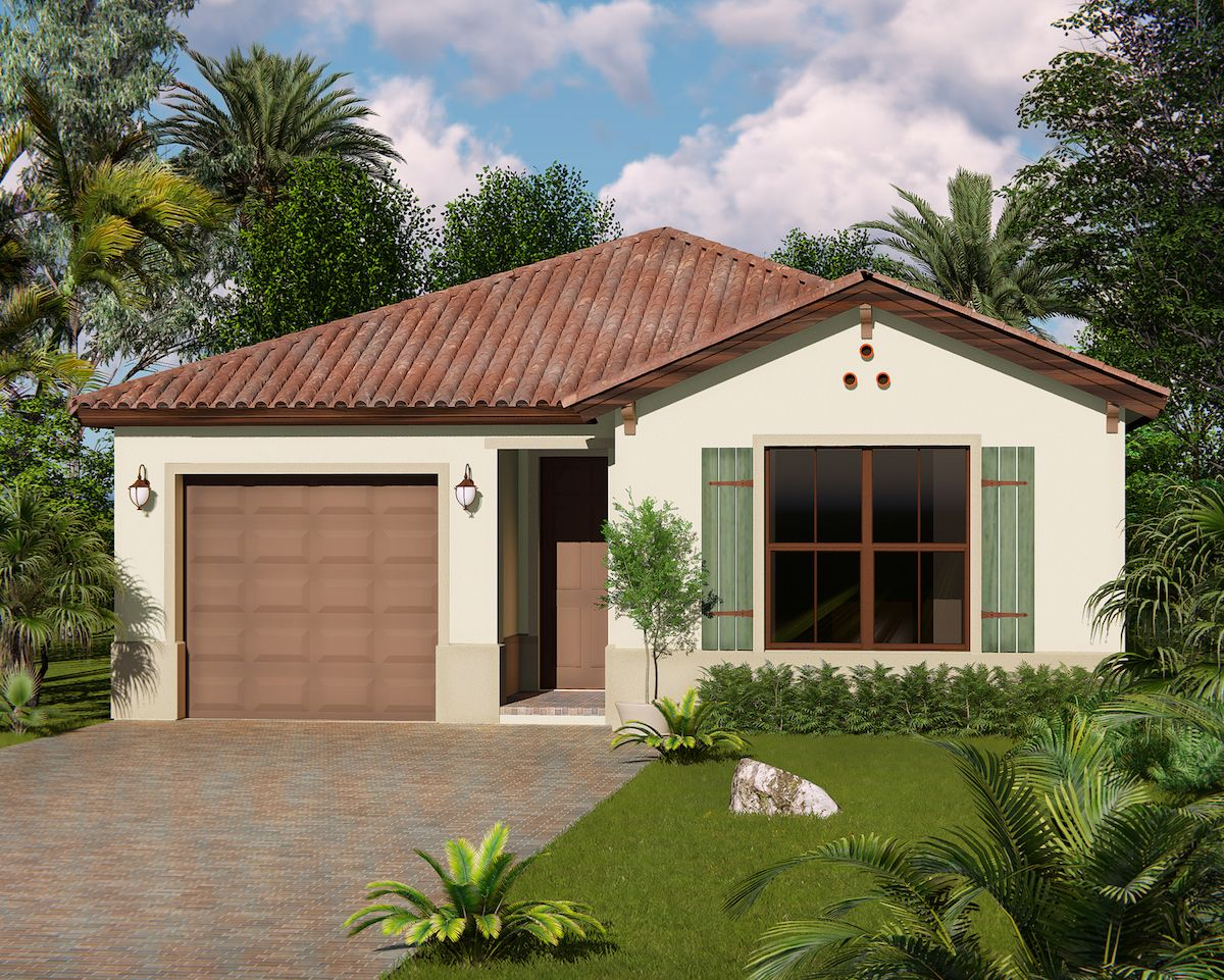Exterior featured in the Huntington of Silverwood Collection By CC Homes in Naples, FL