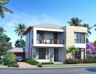 Maui A Two Story - Canarias at Downtown Doral: Miami, Florida - CC Homes