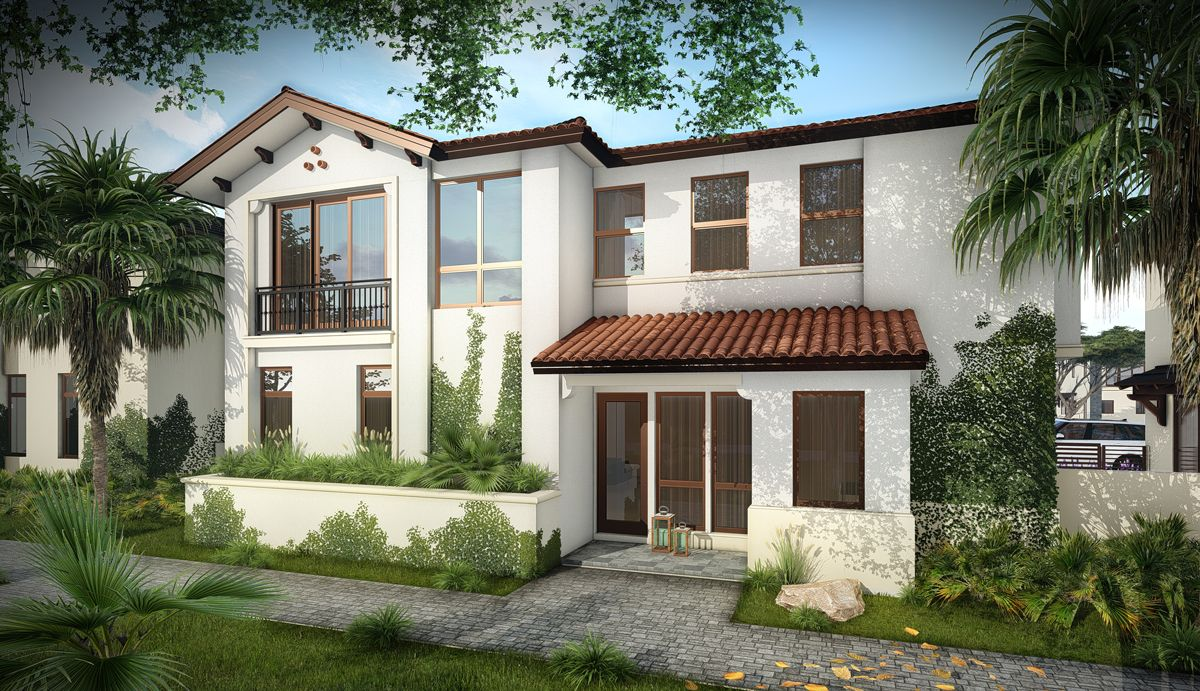 Exterior featured in the Ibiza C By CC Homes in Miami-Dade County, FL