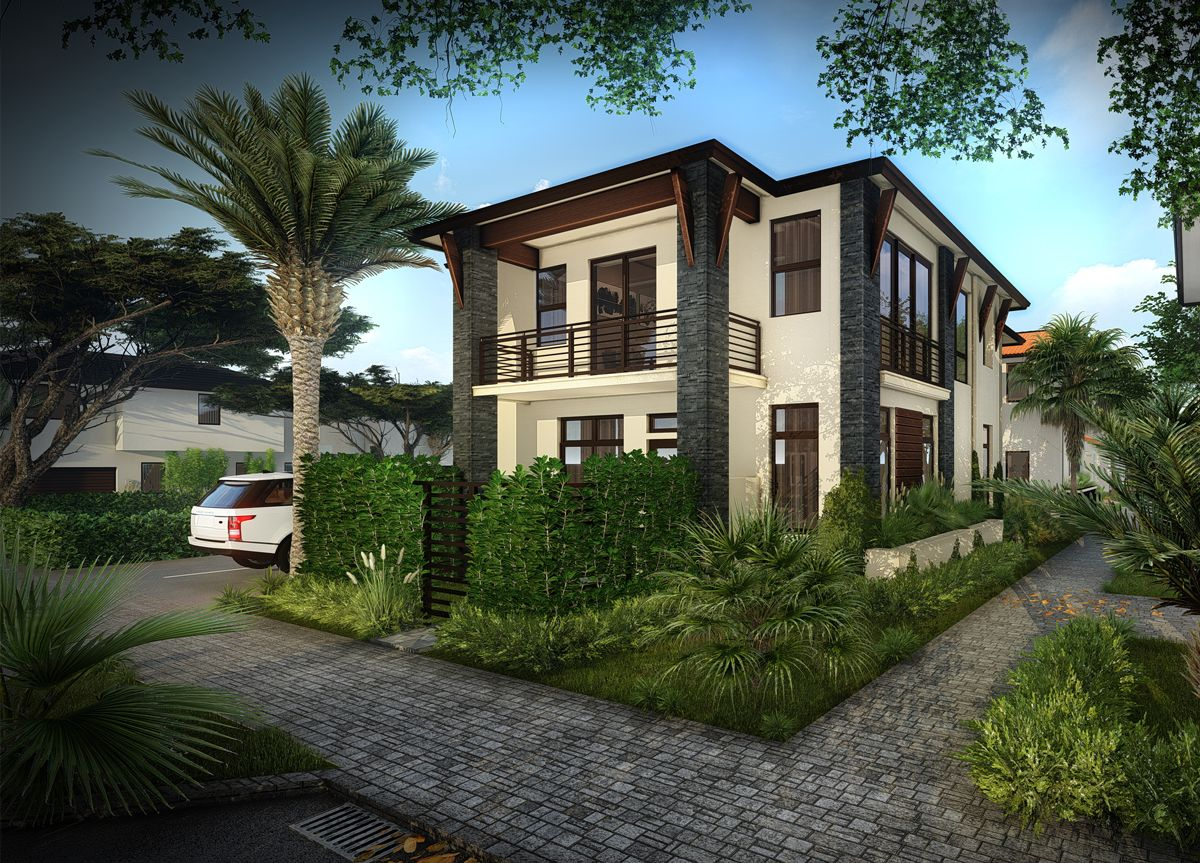 Exterior featured in the Ibiza D By CC Homes in Miami-Dade County, FL