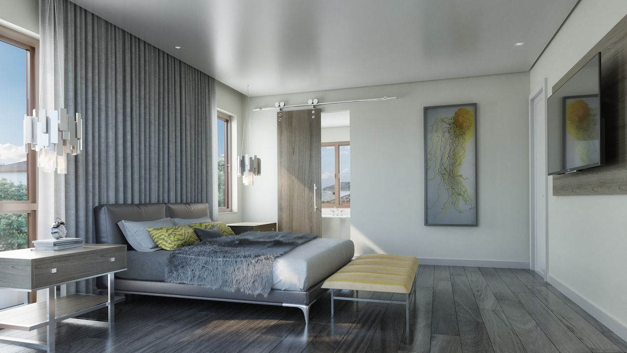 Bedroom featured in the Ibiza D By CC Homes in Miami-Dade County, FL