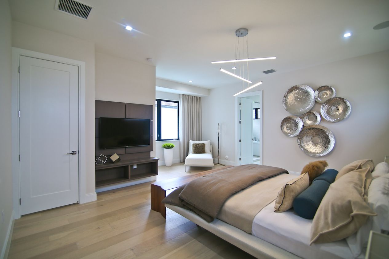 Bedroom featured in the Model B - Three Story By CC Homes in Miami-Dade County, FL