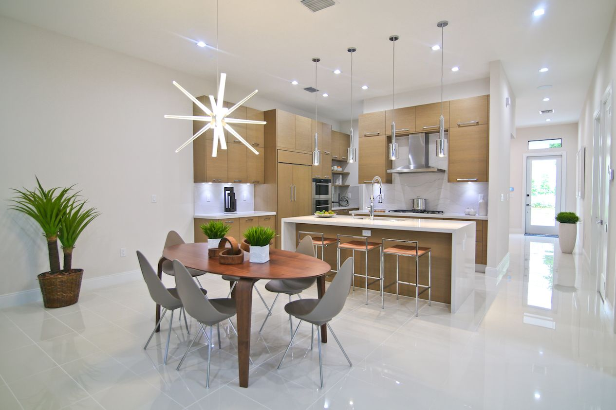 Kitchen featured in the Model B - Three Story By CC Homes in Miami-Dade County, FL