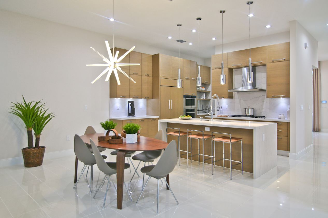 Kitchen featured in the Model C - Three Story By CC Homes in Miami-Dade County, FL